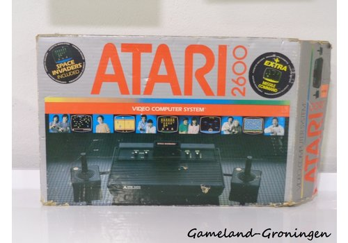 Atari 2600 - Space Invaders & Missile Command Pack (Complete)