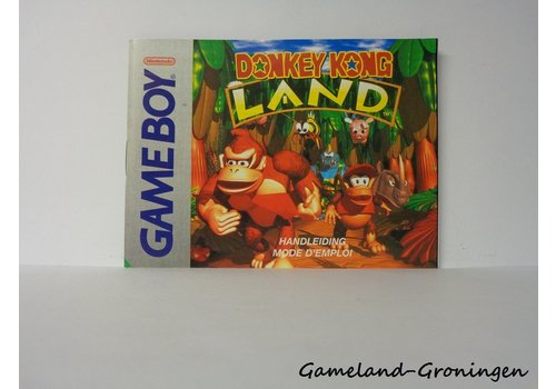 Donkey Kong Land (Handleiding, FAH)