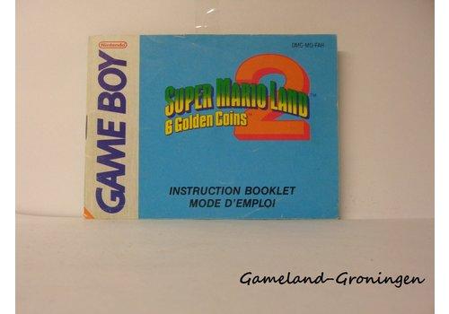 Super Mario Land 2 6 Golden Coins (Manual, FAH)