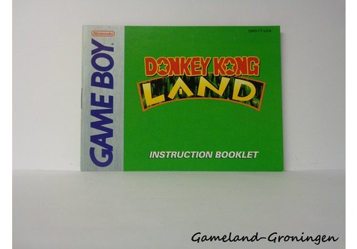 Donkey Kong Land (Handleiding, USA)