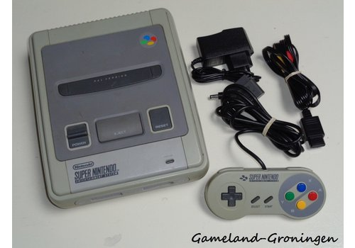 Super Nintendo with Controller & Wiring