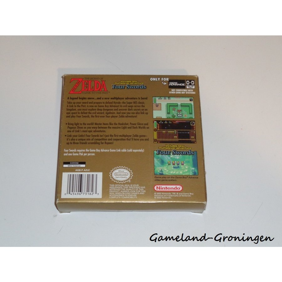 The Legend of Zelda A Link to the Past (Complete, USA)