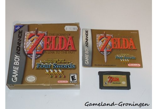 The Legend of Zelda A Link to the Past Four Swords (Compleet, USA)