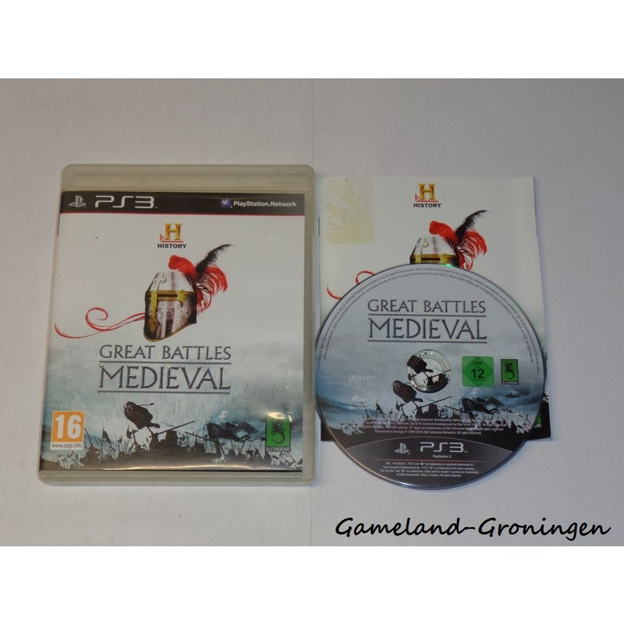 History Great Battles Medieval (Compleet)