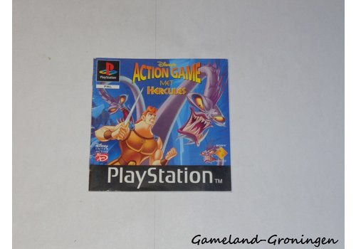 Disney's Action Game with Hercules (Manual)