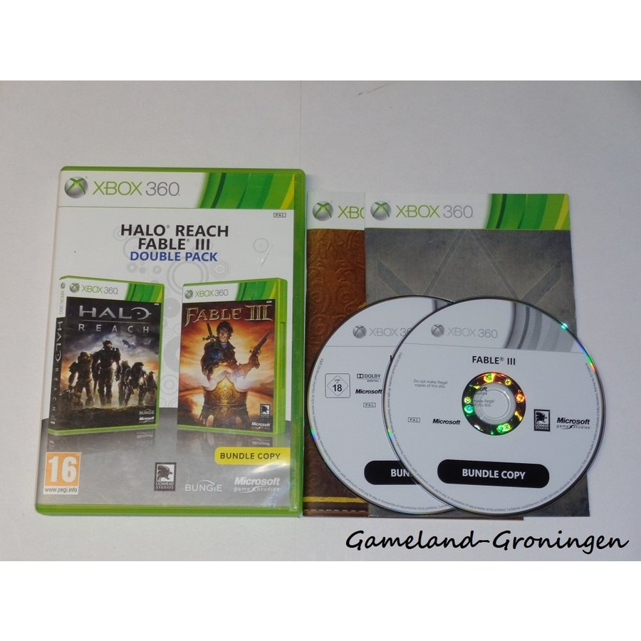 Halo Reach & Fable III (Complete)