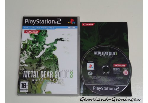 Metal Gear Solid 3 Snake Eater (Compleet)