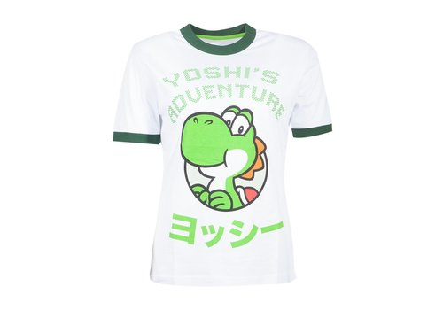 Super Mario - Yoshi Ladies T-Shirt