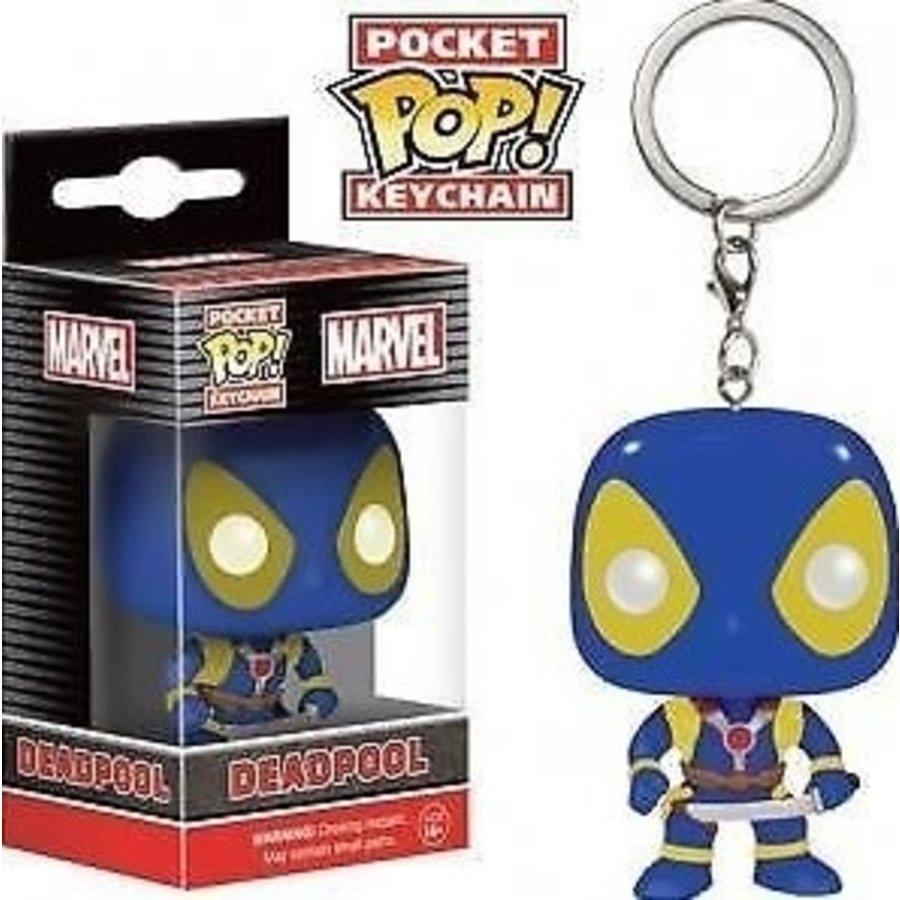 Marvel Pocket POP Keychain X-Men Deadpool 5 cm (New)