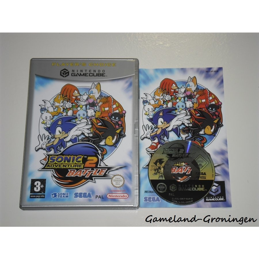 Sonic Adventure 2 Battle (Complete, Player's Choice, HOL)