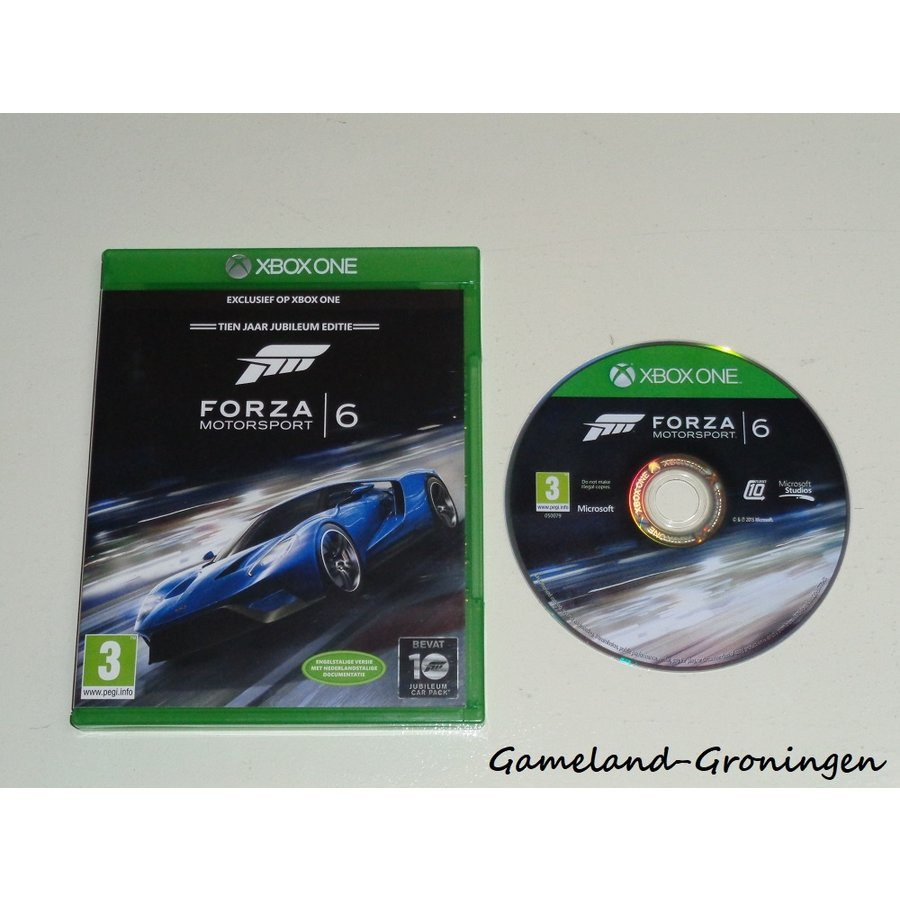 Forza Motorsport 6 (Complete)