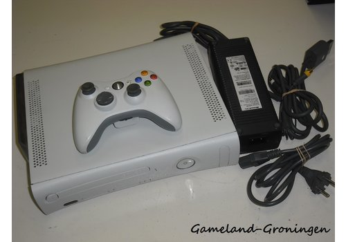 Xbox 360 60GB  with Controller & Wiring