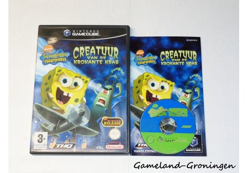 SpongeBob Squarepants Creatuur van de Krokante Krab (Compleet, HOL)