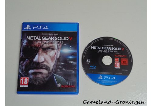 Metal Gear Solid V Ground Zeroes (Complete)
