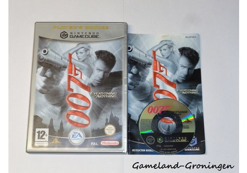 James Bond 007 Everything or Nothing (Complete, Player's Choice, UKV)