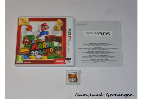 Super Mario 3D Land (Compleet, Nintendo Selects)