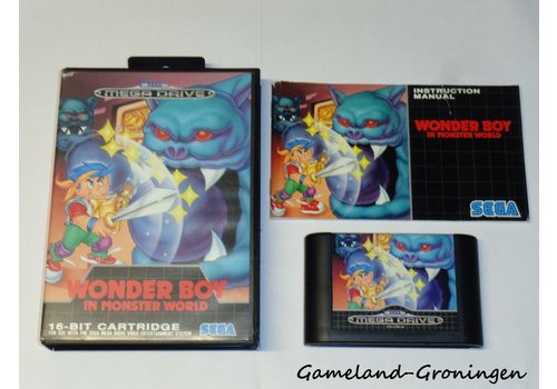 Wonder Boy in Monster World (Complete)