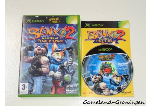 Blinx 2 Masters of Time & Space (Compleet)