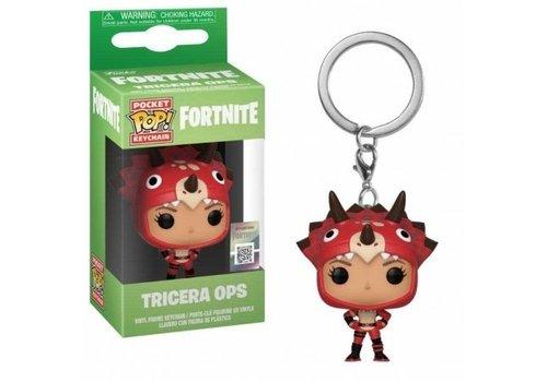 Fortnite Pocket POP Keychain - Tricera Ops
