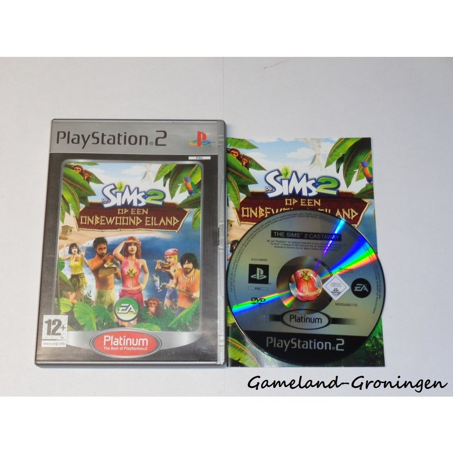 De Sims 2 op een Onbewoond Eiland (Compleet, Platinum)