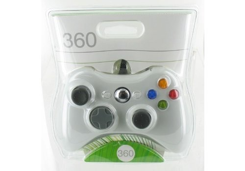 Wired Xbox 360 Controller (White)