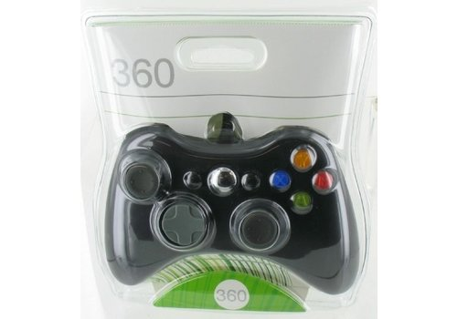 Wired Xbox 360 Controller (Black)