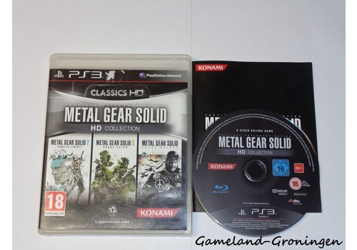 Metal Gear Solid HD Collection (Complete)