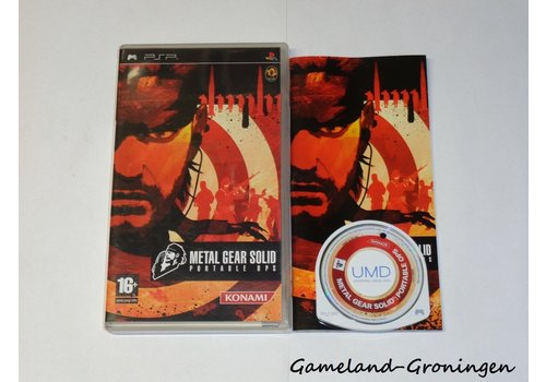 Metal Gear Solid Portable Ops (Complete)