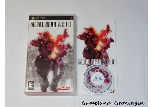 Metal Gear Acid (Compleet)