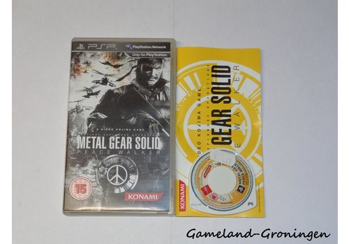 Metal Gear Solid Peace Walker (Compleet)