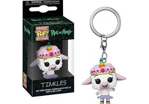 Rick and Morty Pocket POP Keychain - Tinkles