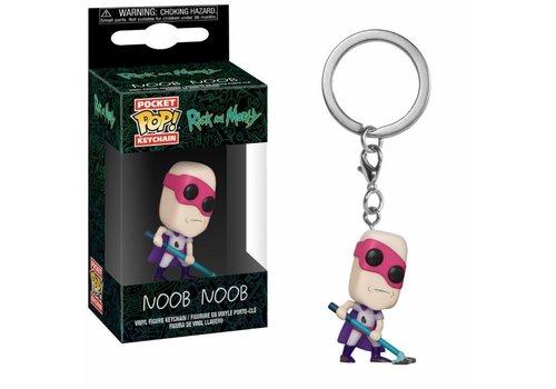 Rick and Morty Pocket POP Keychain - Noob Noob