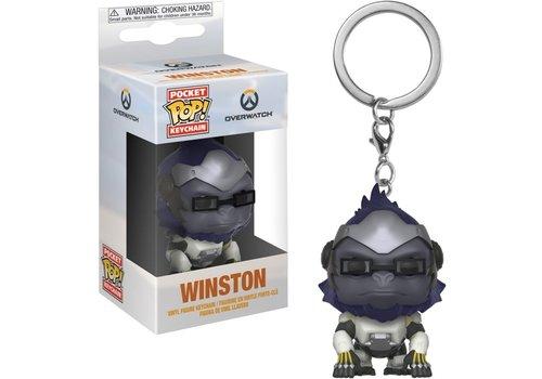 Overwatch Pocket POP Sleutelhanger - Winston