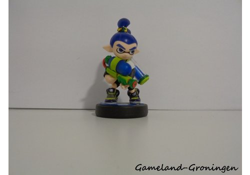 Splatoon - Amiibo Figuur Inkling Boy Blauw