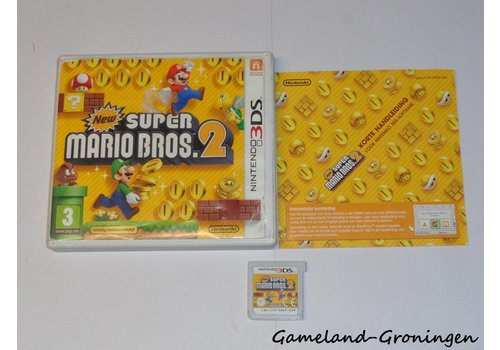 New Super Mario Bros. 2 (Complete, HOL)