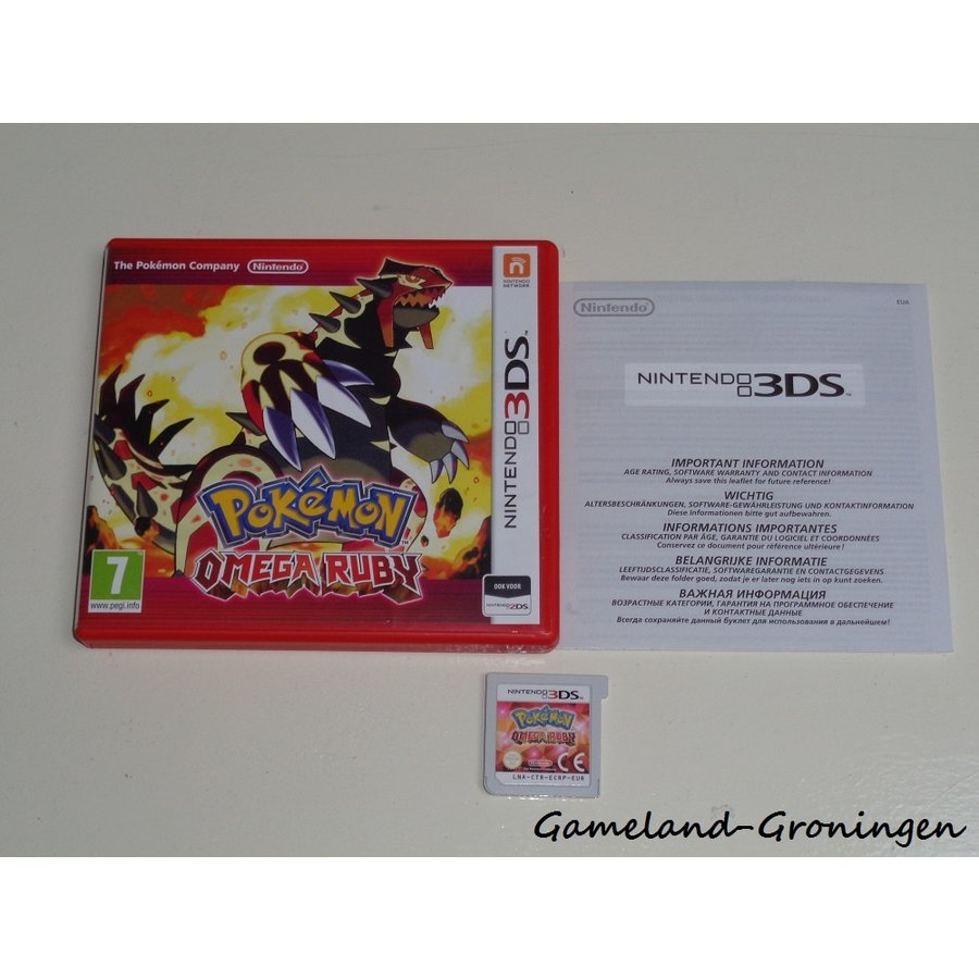 Pokemon Omega Ruby (Compleet, HOL)