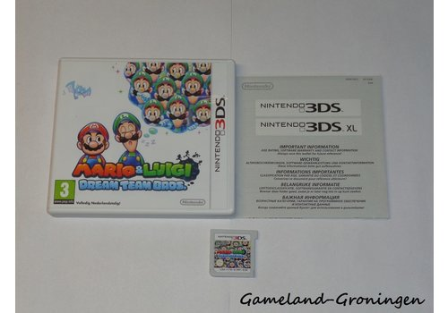 Mario & Luigi Dream Team Bros (Complete, HOL)