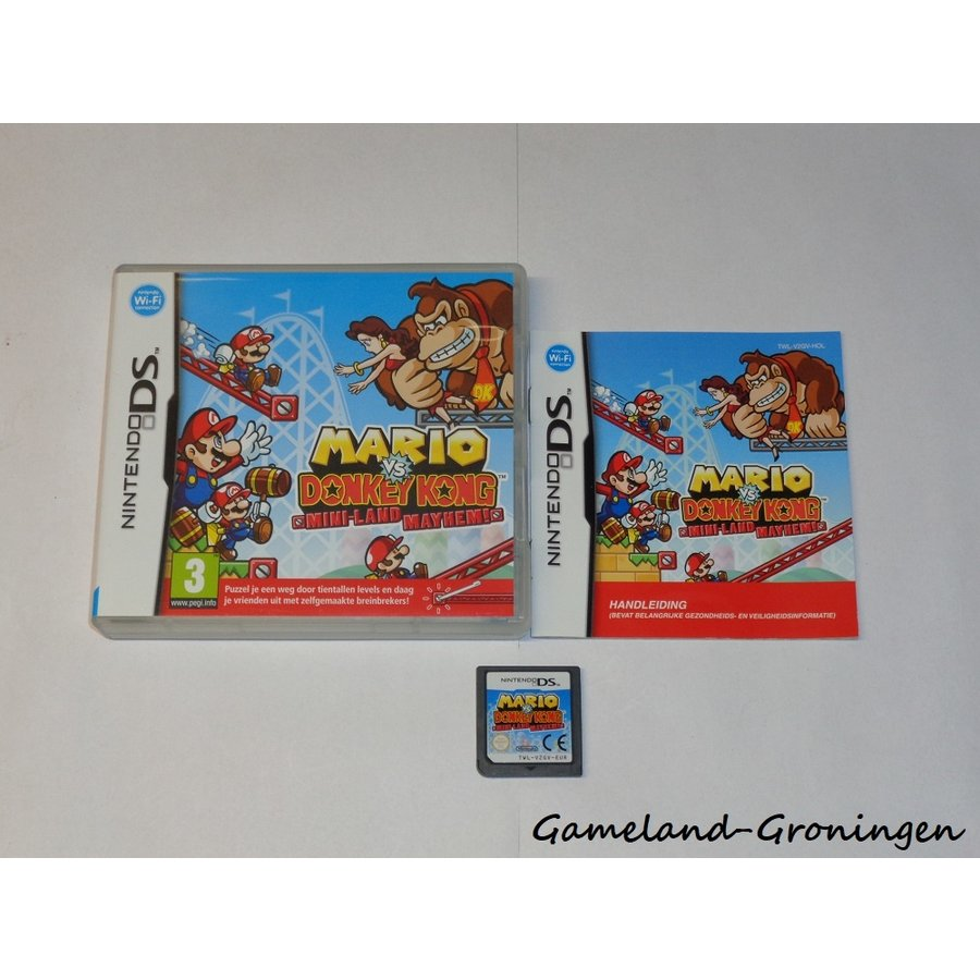 Mario vs. Donkey Kong Mini-Land Mayhem! (Compleet, HOL)