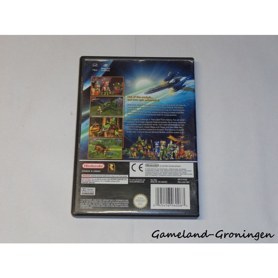Starfox Adventures (Boxed, UKV)