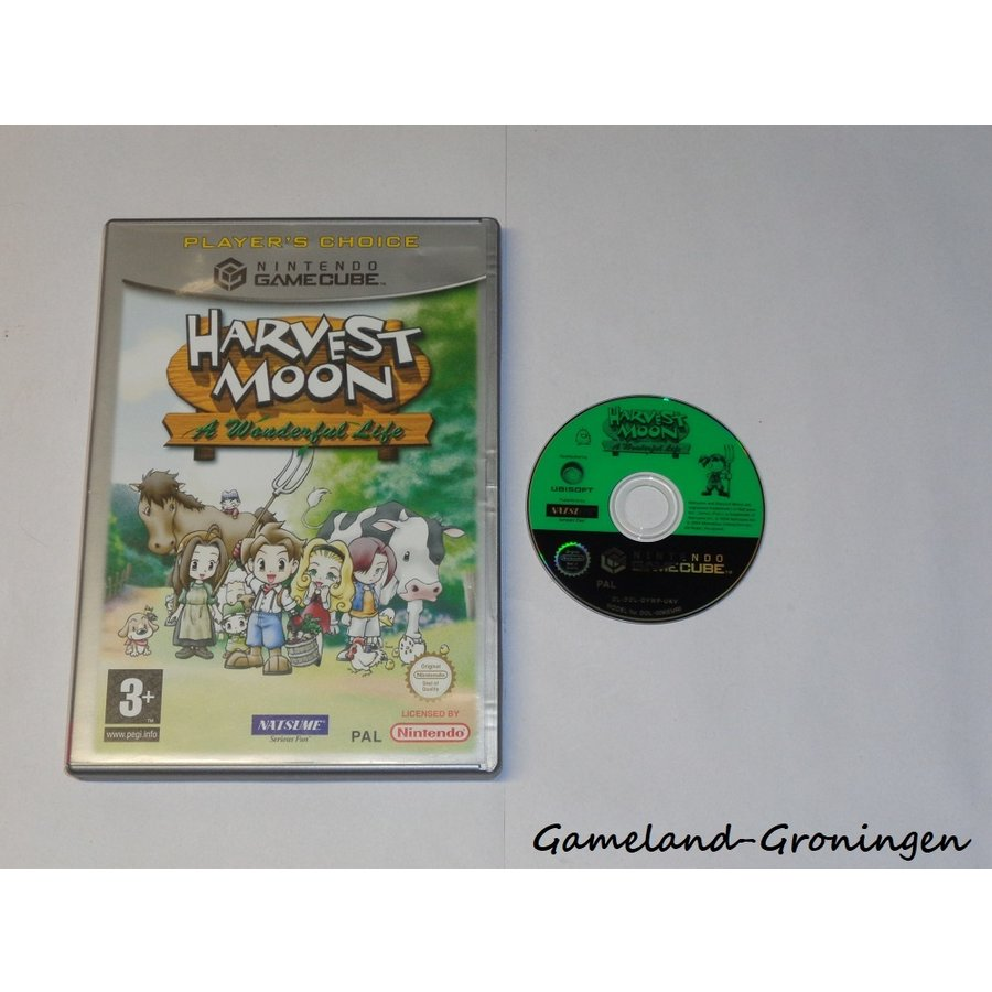 Harvest Moon A Wonderful Life (Boxed, Players Choice, EUR)