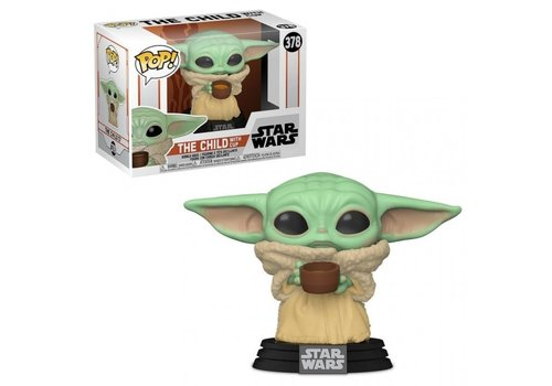 Star Wars The Mandalorian POP! - The Child / Baby Yoda with Cup