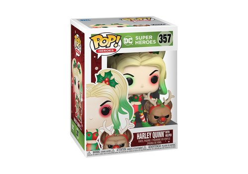 DC Super Heroes Holiday POP! - Harley Quinn with Helper