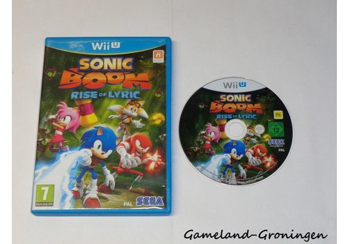 Sonic Boom Rise of Lyric (Compleet)