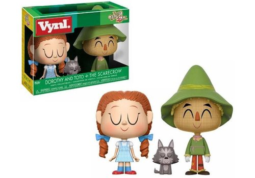 The Wizard of Oz Vinyl! - Dorothy and Toto + The Scarecrow 2-Pack