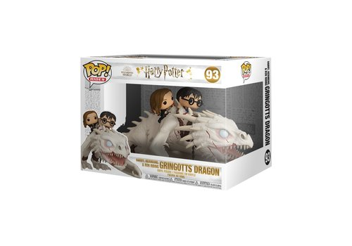 Harry Potter Rides POP! - Dragon with Harry Ron and Hermione