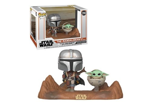 Star Wars The Mandalorian POP! - The Mandalorian and the Child / Baby Yoda