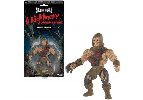 Nightmare on Elm Street Savage World Figure - Freddy Krueger