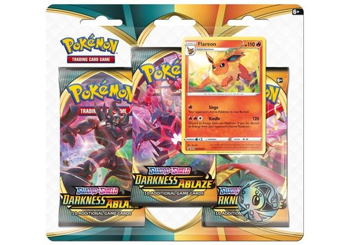Pokémon TCG - Sword & Shield Darkness Ablaze Booster Blister