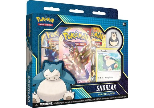Pokémon TCG - Snorlax Pin Collection