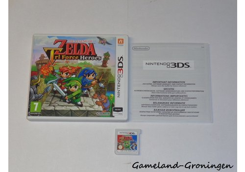 The Legend of Zelda Tri Force Heroes (Complete, HOL)